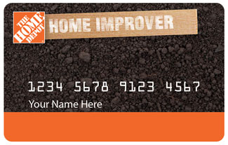 The Home Depot Home Improver Card Activation Page
